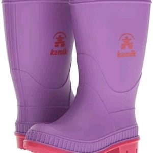Kamik Childrens Stomp Rainboot